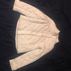 Lacoste White puffer jacket